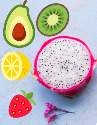 healthy and beautiful fruit
