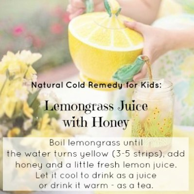 Cold Remedy for Kids