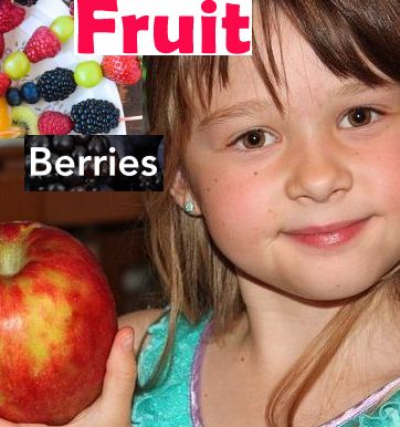 Berries and Fruit for Kids